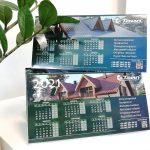 Календар хатка, дизайн календарів